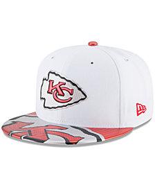 New Era Boys' Kansas City Chiefs 2017 Draft 59FIFTY Cap