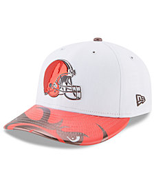 New Era Cleveland Browns Low Profile 2017 Draft 59FIFTY Cap