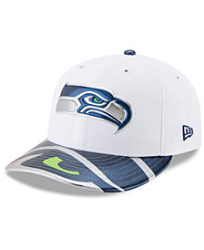 New Era Seattle Seahawks Low Profile 2017 Draft 59FIFTY Cap