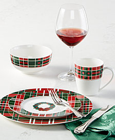 Lenox Vintage Plaid Holiday Collection