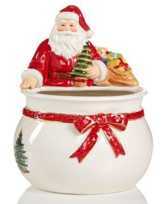 Figural Santa Bowl