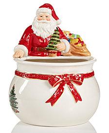 Spode Figural Santa Bowl