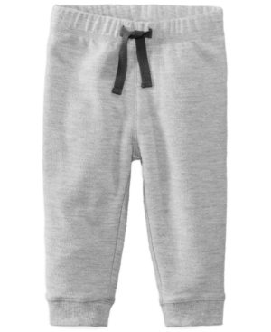 First Impressions Heathered Jogger Pants Baby Boys (024 months) Created for Macys