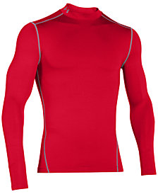 Under Armour Men's ColdGear® Mock Neck Long-Sleeve T-Shirt