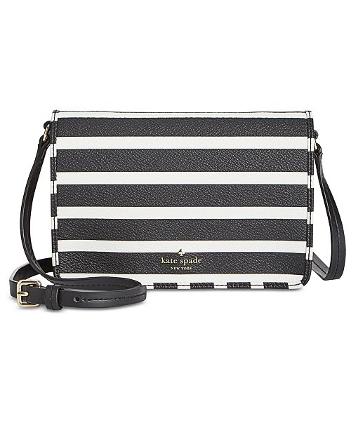 5b5e9ff1591c ... kate spade new york Hyde Lane Stripe Mini Renee Crossbody ...