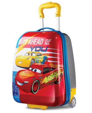 Disney Cars 18 Hardside Rolling Suitcase By American Tourister