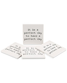 Thirstystone Perfect Day 4-Pc. Coaster Set