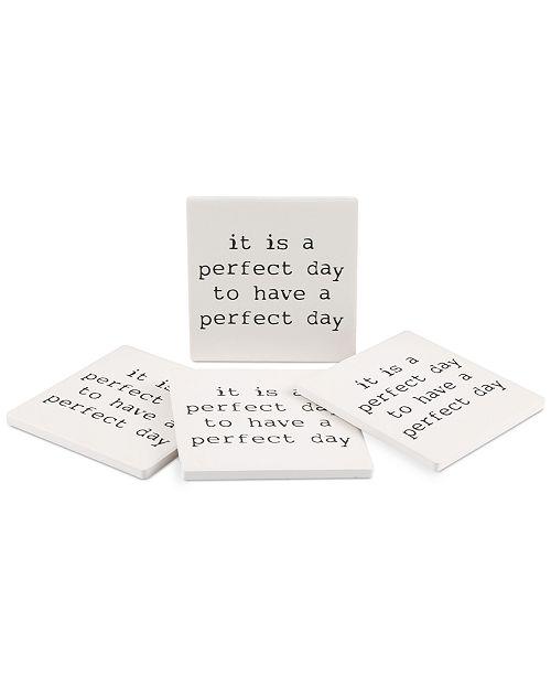 Thirstystone Perfect Day 4-Pc. Coaster Set