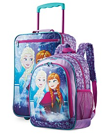 Disney Frozen Kid's Luggage Collection By American Tourister