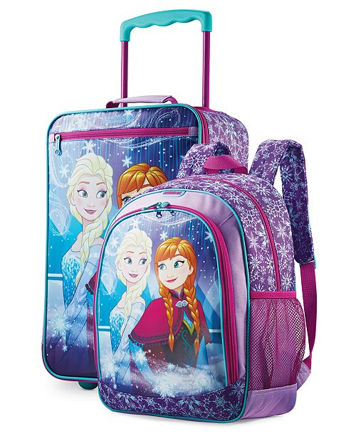 American Tourister Disney Frozen Kid's Luggage Collection By American Tourister