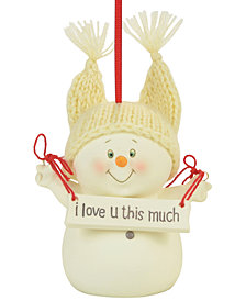 Department 56 Snowpinions I Love You This Much Ornament