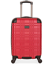 "Ben Sherman Nottingham 20"" Lightweight Hardside Carry-On Spinner Suitcase"