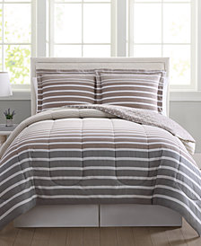 Liam Reversible 3-Pc. Full/Queen Comforter Mini Set