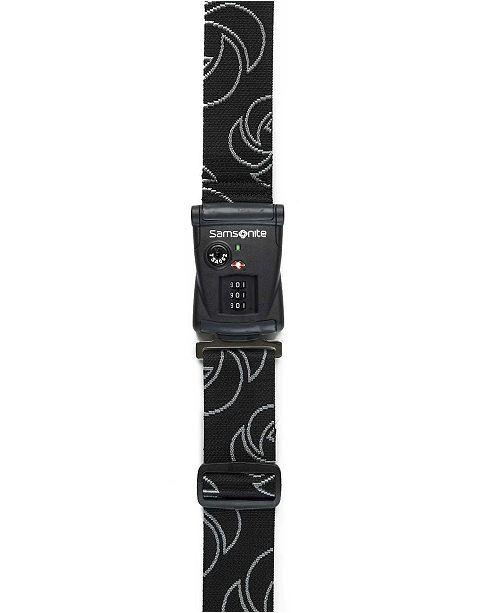 Samsonite TS3 Dial Combination Luggage Strap