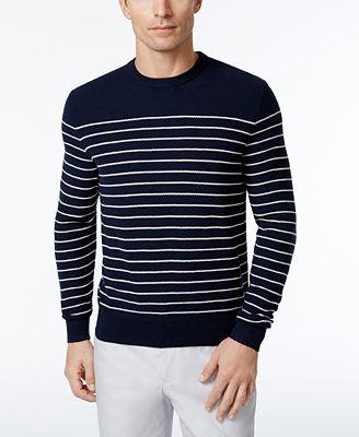 Brooks Brothers Red Fleece Men's Stripe Sweater - Sweaters - Men ...