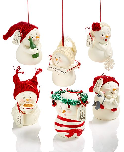 Department 56 Snowpinions Ornament Collection