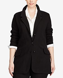 Lauren Ralph Lauren Plus Size Sweater Blazer