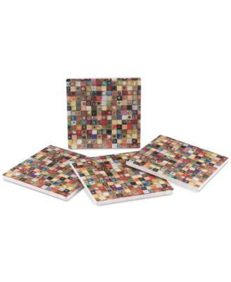 Galvanize 4-Pc. Coaster Set