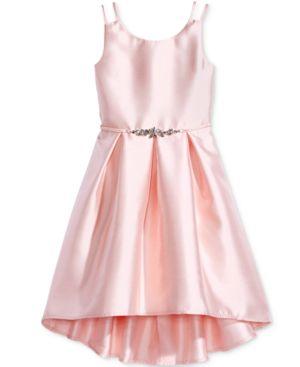 Pink & Violet Satin Dress, Big Girls (7-16) 4598767