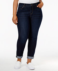 Style & Co Plus Size Boyfriend Jeans, Created for Macy's