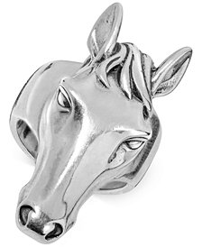 Horse's Head Ring in Sterling Silver