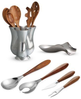 Stainless Steel & Silicone Curvo Spoonula