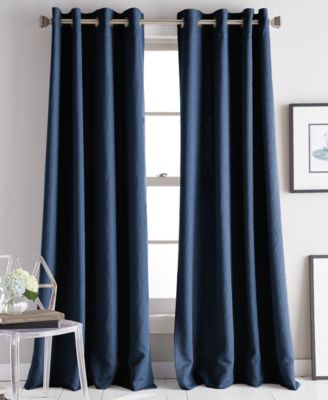 "Avenue 50"" x 84"" Jacquard Grommet Curtain Panel"