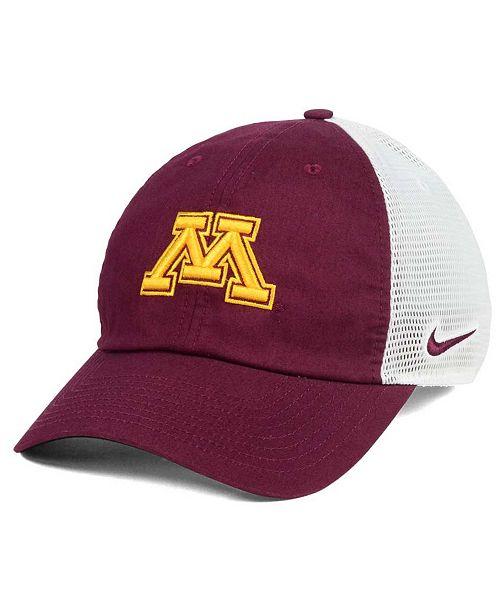 415904a1d111a Nike Minnesota Golden Gophers H86 Trucker Cap - Sports Fan Shop By ...