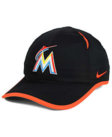 Nike Miami Marlins Dri-FIT Featherlight Adjustable Cap