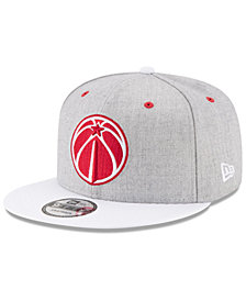 New Era Washington Wizards White Vize 9FIFTY Snapback Cap