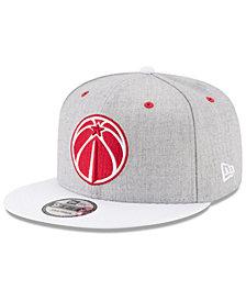 New Era Washington Wizards White Vize 9FIFTY Snapback Cap