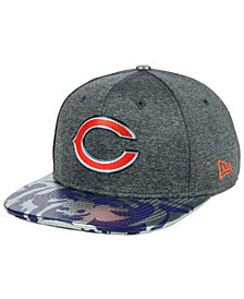 New Era Chicago Bears 2017 Draft 9FIFTY Snapback Cap