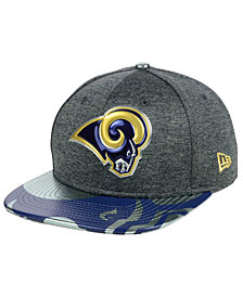 New Era Los Angeles Rams 2017 Draft 9FIFTY Snapback Cap