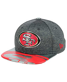 New Era San Francisco 49ers 2017 Draft 9FIFTY Snapback Cap