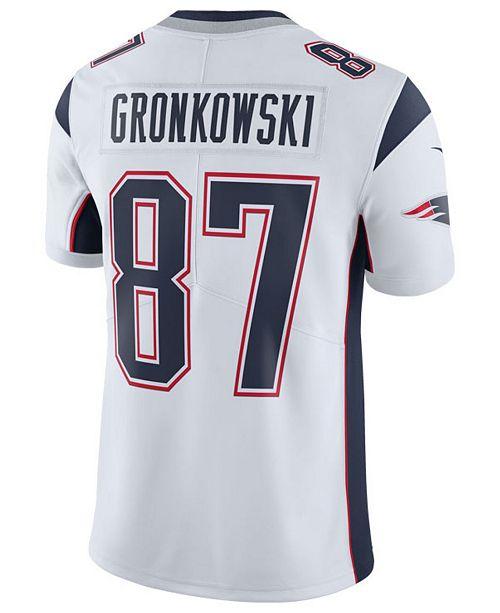 on sale d1757 5c406 Nike Men's Rob Gronkowski New England Patriots Vapor ...