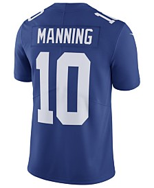 Nike Men's Eli Manning New York Giants Vapor Untouchable Limited Jersey