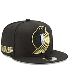 New Era Portland Trail Blazers Playoff Push 9FIFTY Snapback Cap