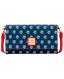 Dooney & Bourke Minnesota Twins Daphne Crossbody Wallet