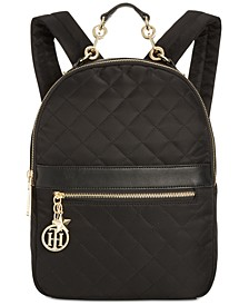 Charm Quilted Backpack