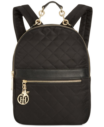 Tommy Hilfiger Charm Quilted Small Backpack