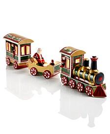 Christmas Toy's Memory 3-Piece Train Set