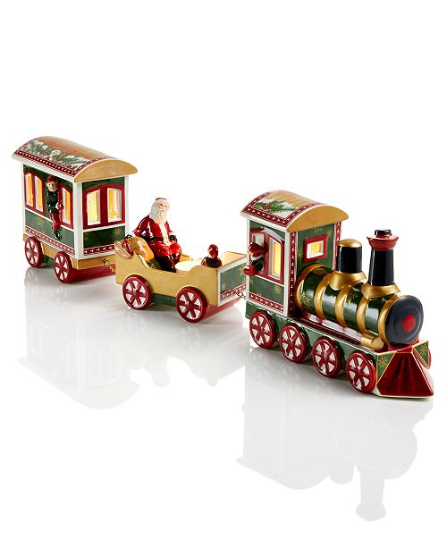 Villeroy & Boch Christmas Toy's Memory 3-Piece Train Set