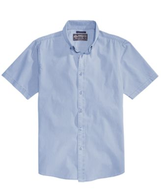 Image of American Rag Men's Nora Solid Shirt, Created for Macy's