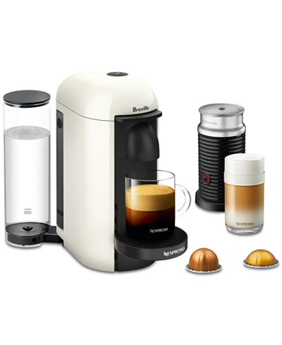 nespresso breville vertuo plus coffee espresso maker with frother coffee tea espresso. Black Bedroom Furniture Sets. Home Design Ideas