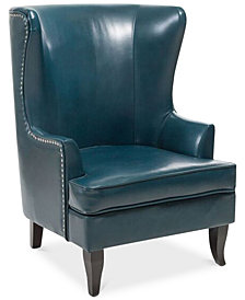 Rawley Wing Chair, Quick Ship