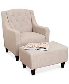 Heyrod Chair & Ottoman