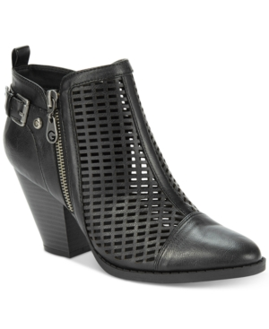 G by Guess Privvy Perforated Booties Women