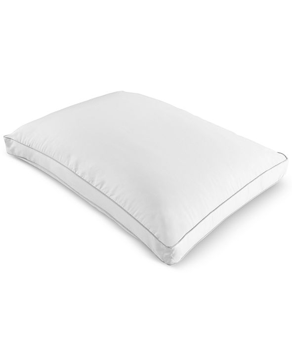 Martha Stewart Collection Martha Stewart Collection Won't Go Flat Foam Core Extra Firm Standard Down Alternative Gusset Pillow, Created for Macy's