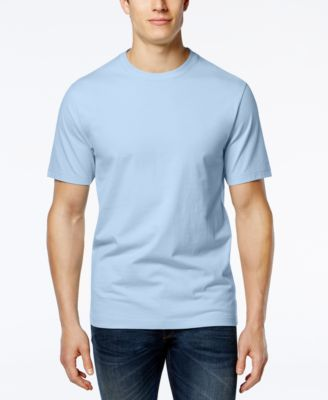 Image of Club Room Men's Crew-Neck T-Shirt, Only at Macy's