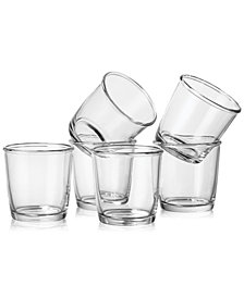 Martha Stewart Collection Rocks Glasses Set of 6, Created for Macy's